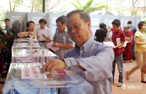 47 tỉnh thành có tỷ lệ cử tri đi bầu cử đạt trên 99% - ảnh 1