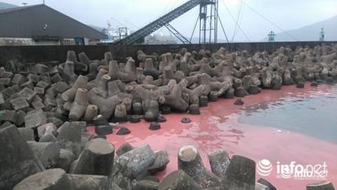 Hà Tĩnh: Dải nước màu đỏ tại biển Vũng Áng đã biến mất - ảnh 1
