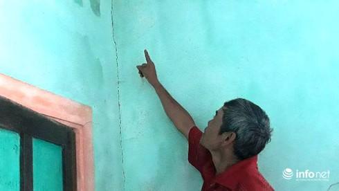 Thừa Thiên Huế: Phấp phỏng sống trong những ngôi nhà nứt toác vì mỏ đá nổ mìn - ảnh 8