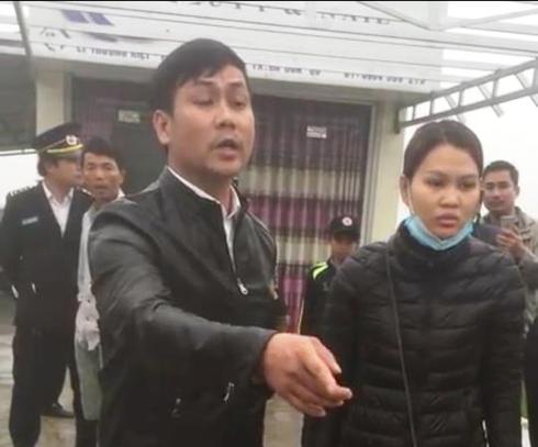 Quảng Bình: Thượng úy CSGT cản trở việc cưỡng chế công trình vi phạm - ảnh 1