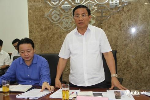 Bộ trưởng Trần Hồng Hà yêu cầu gì trong buổi làm việc với Formosa? - ảnh 2