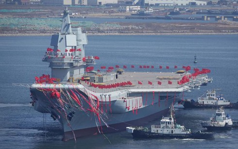 """Với tàu sân bay mới, Trung Quốc """"mơ mộng"""" xây dựng ảnh hưởng quốc tế ngang Mỹ - ảnh 1"""