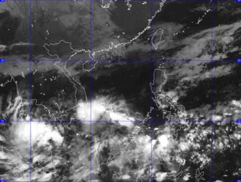 Cảnh báo vùng áp thấp và dự báo thời tiết ngày 22/11 - ảnh 1