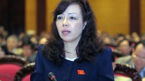 Bộ trưởng Y tế trả lời các vấn đề
