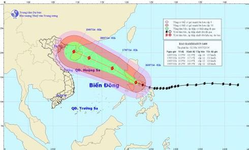 Tin bão mới nhất hôm nay: Sẽ ảnh hưởng vùng biển Hoàng Sa - ảnh 1