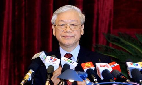 Tổng Bí thư Nguyễn Phú Trọng trúng cử BCH Trung ương 12 với số phiếu cao - ảnh 1