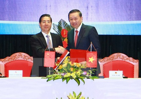 Bộ Công an Việt Nam và Trung Quốc hợp tác chống tội phạm - ảnh 1