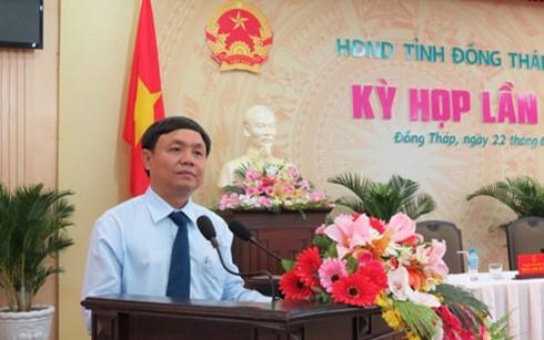 Chân dung Chủ tịch HĐND tỉnh Đồng Tháp Phan Văn Thắng - ảnh 1
