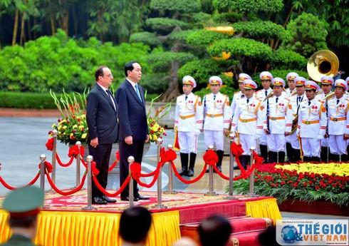 Việt - Pháp hướng tới quan hệ hợp tác quốc phòng hiệu quả - ảnh 1