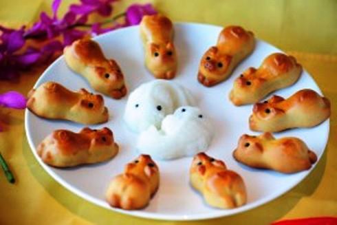 sự tích bánh nướng, bánh dẻo   Món Miền Trung