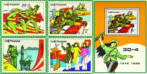 Dấu ấn 30/4/1975 trên tem Bưu chính - ảnh 2