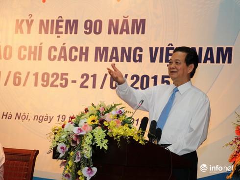 """""""Đảng, Nhà nước và nhân dân tự hào về báo chí cách mạng Việt Nam"""" - ảnh 1"""