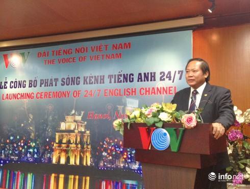VOV công bố phát sóng Kênh tiếng Anh liên tục đầu tiên tại Việt Nam - ảnh 2