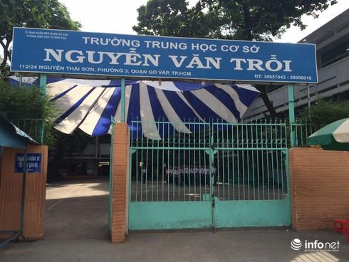"""TP.HCM: Thực hư việc """"chạy tiền"""" vào lớp bán trú trường THCS Nguyễn Văn Trỗi - ảnh 1"""