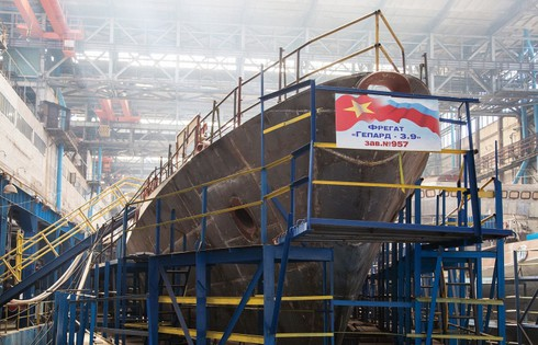 Nga chốt thời hạn bàn giao thêm 2 tàu hộ vệ tên lửa Gepard cho Việt Nam - ảnh 1