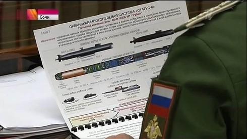 """Vụ """"rò rỉ"""" thông tin siêu dự án Status-6 của Nga - đòn """"nắn gân"""" Mỹ? - ảnh 2"""