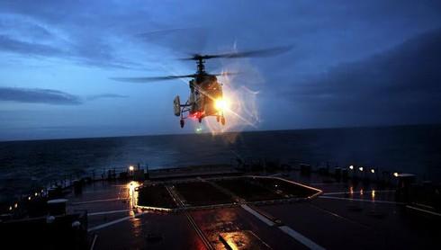 Nga sẽ cung cấp trực thăng cho tàu Mistral của Ai Cập - ảnh 1