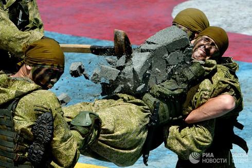 [Ảnh] Thủy quân Lục chiến Nga qua các thời kỳ - ảnh 5