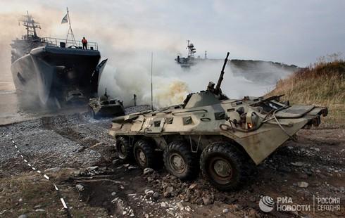 [Ảnh] Thủy quân Lục chiến Nga qua các thời kỳ - ảnh 6