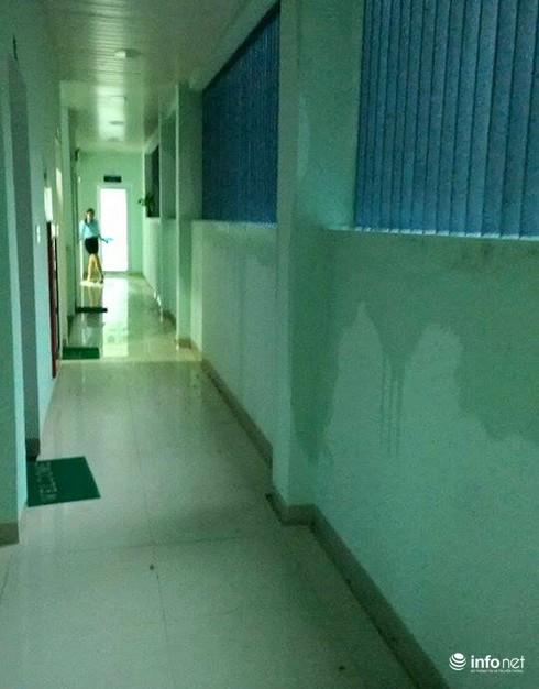 Đà Nẵng: Thư viện trọng điểm mới khánh thành đã thấm dột nặng! - ảnh 1