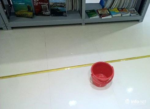 Đà Nẵng: Thư viện trọng điểm mới khánh thành đã thấm dột nặng! - ảnh 6