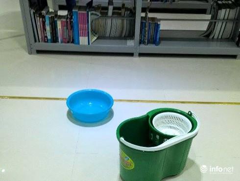 Đà Nẵng: Thư viện trọng điểm mới khánh thành đã thấm dột nặng! - ảnh 5