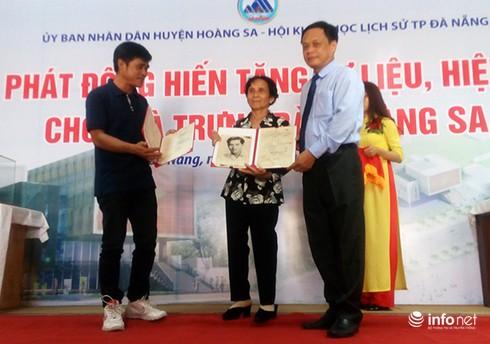 Đà Nẵng: Tiếp nhận giấy chứng tử của chiến binh Hải chiến Hoàng Sa 1974 - ảnh 1