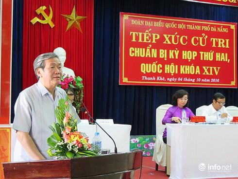 Ông Đinh Thế Huynh nhất trí đề nghị khen thưởng ông Nguyễn Bá Thanh - ảnh 1