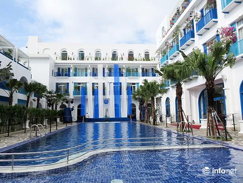 Khu nghỉ dưỡng phong cách Địa Trung Hải giữa lòng Đà Nẵng - ảnh 1