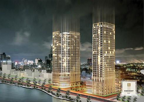 1.800 tỉ đồng xây dựng tòa tháp đôi 31 tầng bên sông Hàn - ảnh 2