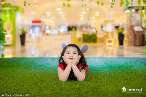 Mẫu nhí Linh Chi và Bảo Ngọc cực xinh trong thời trang ren hè siêu hot - ảnh 11
