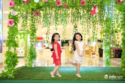 Mẫu nhí Linh Chi và Bảo Ngọc cực xinh trong thời trang ren hè siêu hot - ảnh 2