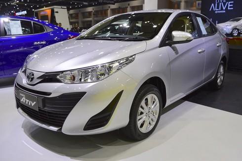 Phiên bản Toyota Yaris Ativ sedan giá 329 triệu đồng tại Thái Lan - ảnh 1