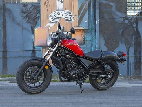 Soi thiết kế chi tiết xe phân khối lớn Honda Rebel 300cc - ảnh 1