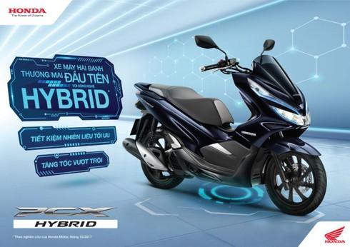 Honda PCX Hybrid chính thức đến tay khách hàng, giá bán 90 triệu đồng - ảnh 1