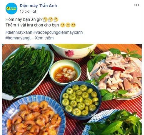 Sau thâu tóm, Thế Giới Di Động đổi fanpage Trần Anh thành nơi chia sẻ mẹo vặt, nấu ăn - ảnh 1