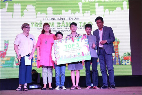 Trao thưởng cho nhiều dự án thành phố thông minh của trẻ em - ảnh 1
