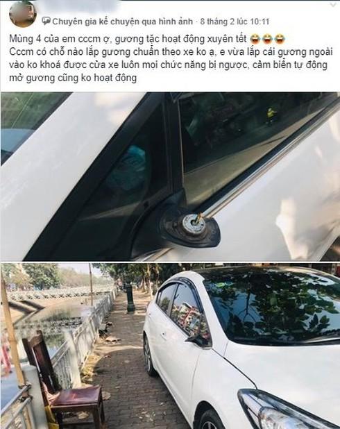 Hàng loạt chủ xế hộp lên mạng xã hội khóc ròng vì xe bị bẻ gương dịp Tết - ảnh 3