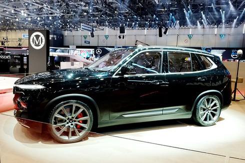 SUV VinFast Lux V8 lộ diện tại Triển lãm Geneva Motor Show 2019 là phiên bản đặc biệt - ảnh 7