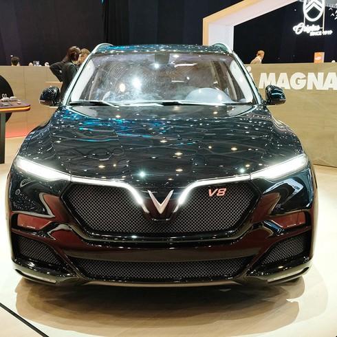 SUV VinFast Lux V8 lộ diện tại Triển lãm Geneva Motor Show 2019 là phiên bản đặc biệt - ảnh 1