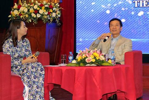 """Bộ trưởng Nguyễn Mạnh Hùng: """"Người trẻ hãy nhận việc khó để làm"""" - ảnh 1"""