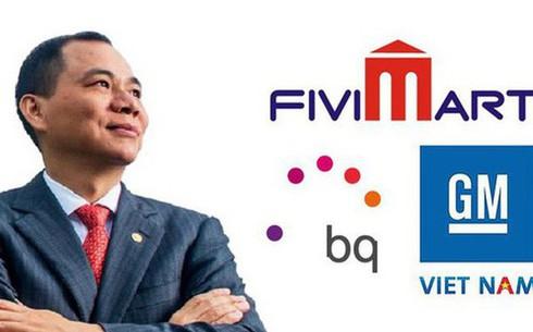 Hé lộ số tiền Vingroup đã chi cho các thương vụ mua lại GM Việt Nam, Fivimart và hãng điện thoại Tây Ban Nha - ảnh 1