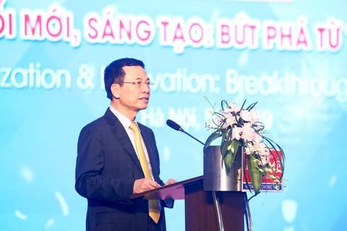 Bộ trưởng Nguyễn Mạnh Hùng: Ở đâu có vấn đề ở đó có công nghệ, giải pháp - ảnh 1