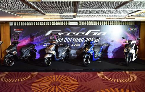 Yamaha FreeGo 125cc ra mắt thị trường Việt Nam,