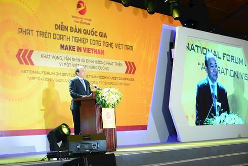 """Thủ tướng: Doanh nghiệp công nghệ là hạt nhân để Việt Nam thực hiện khát vọng """"hóa rồng"""" - ảnh 1"""