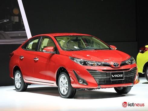 Toyota Vios và Wigo tiếp tục bị