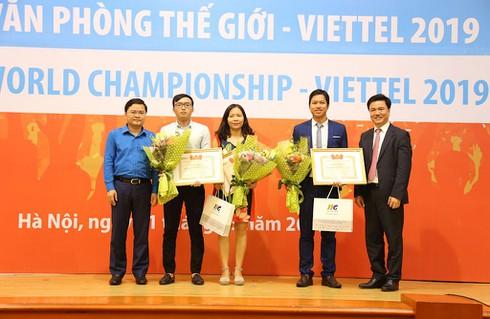 3 học sinh, sinh viên Việt giành suất sang Mỹ thi Tin học văn phòng thế giới 2019 - ảnh 3