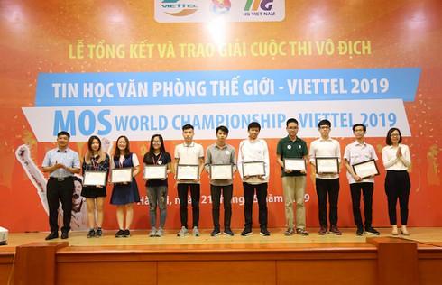 3 học sinh, sinh viên Việt giành suất sang Mỹ thi Tin học văn phòng thế giới 2019 - ảnh 2