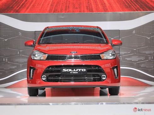 Kia Soluto chính thức chốt giá 399 triệu đồng, thách thức đối thủ Toyota Vios, Accent - ảnh 1