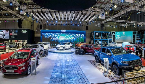 Ford tại Triển lãm ô tô Việt Nam 2019: Ford Escape 2020 lắp ráp tại Việt Nam, chính thức bán vào năm sau - ảnh 3